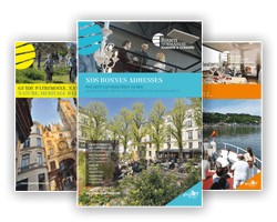 documentation rouen normandie plan guide carte brochure