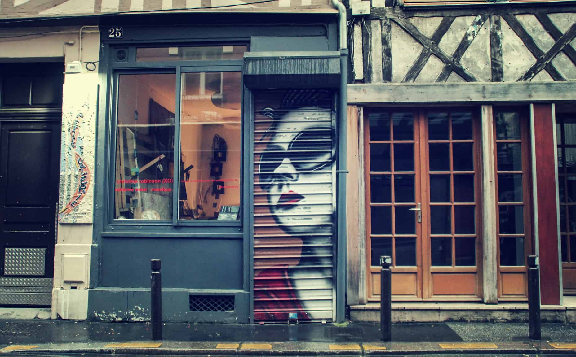 street-art rouen boutique shopping tag graf normandie
