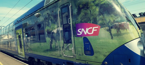 train impressionniste sncf normandie rouen ter transport week-end