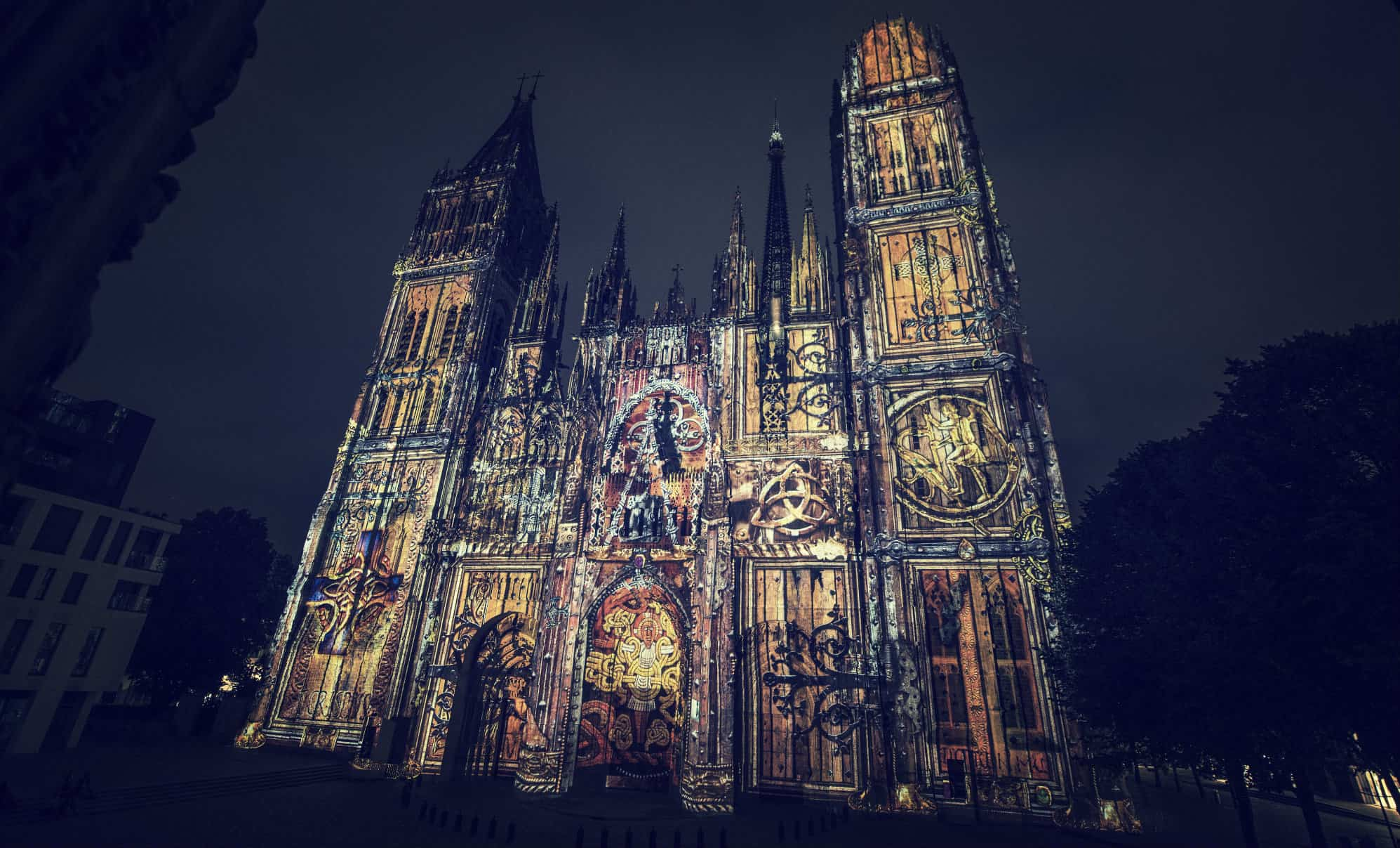 spectacle cathedrale rouen