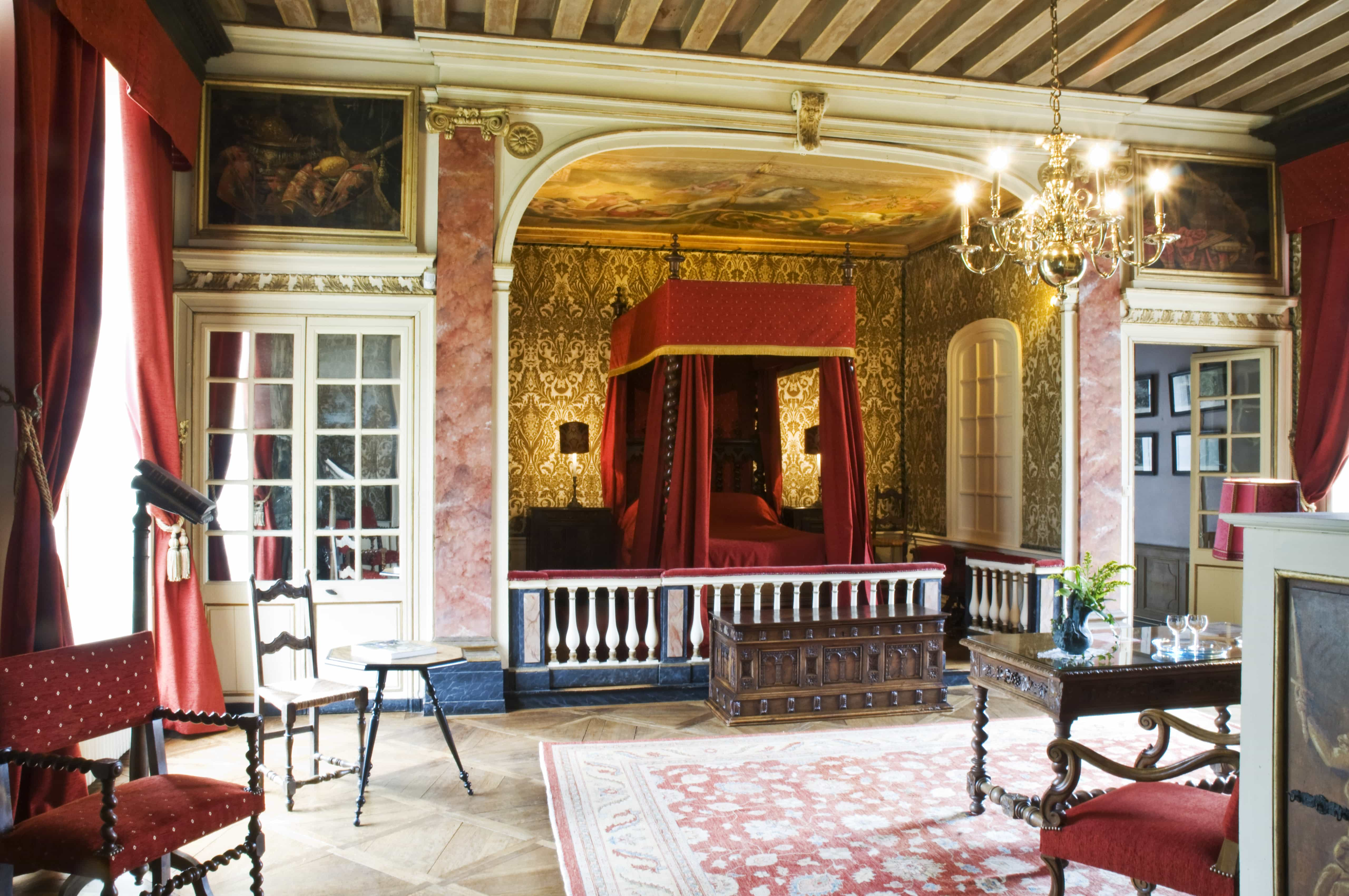 ch teau de bonnemare radepont chambres d 39 h tes au chateau normandie. Black Bedroom Furniture Sets. Home Design Ideas