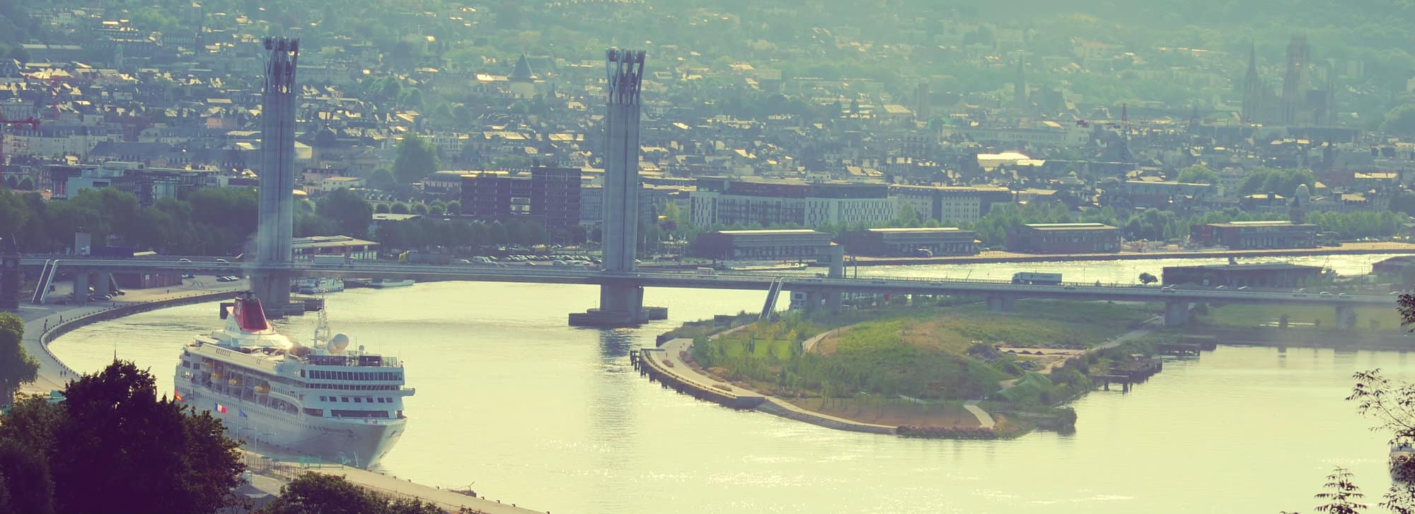 Rouen Port De Paris normandie