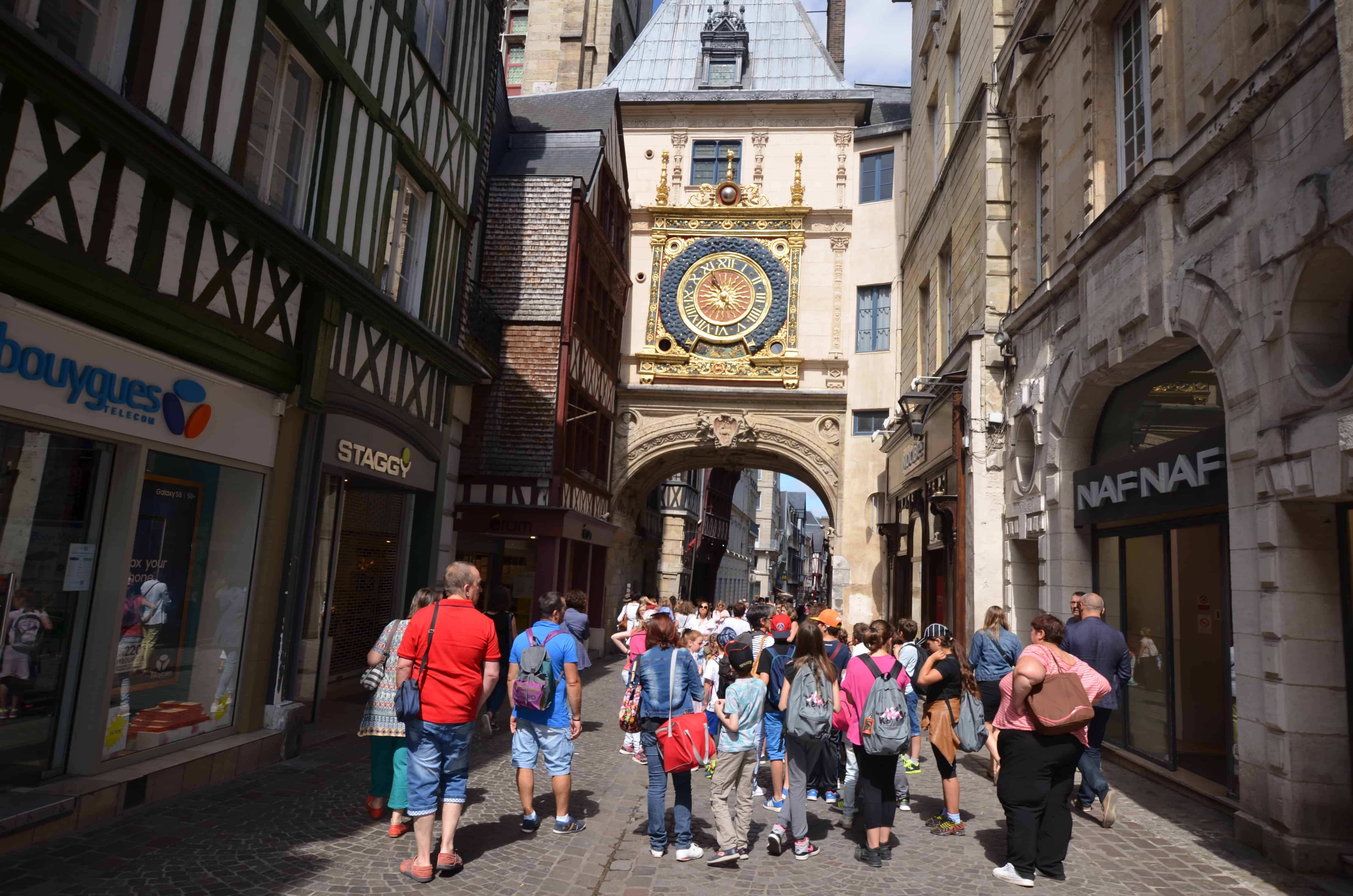 Programme of free events in Rouen