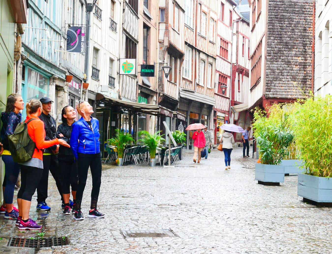 Run & Visit Rouen gourmand (footing et marche rapide)