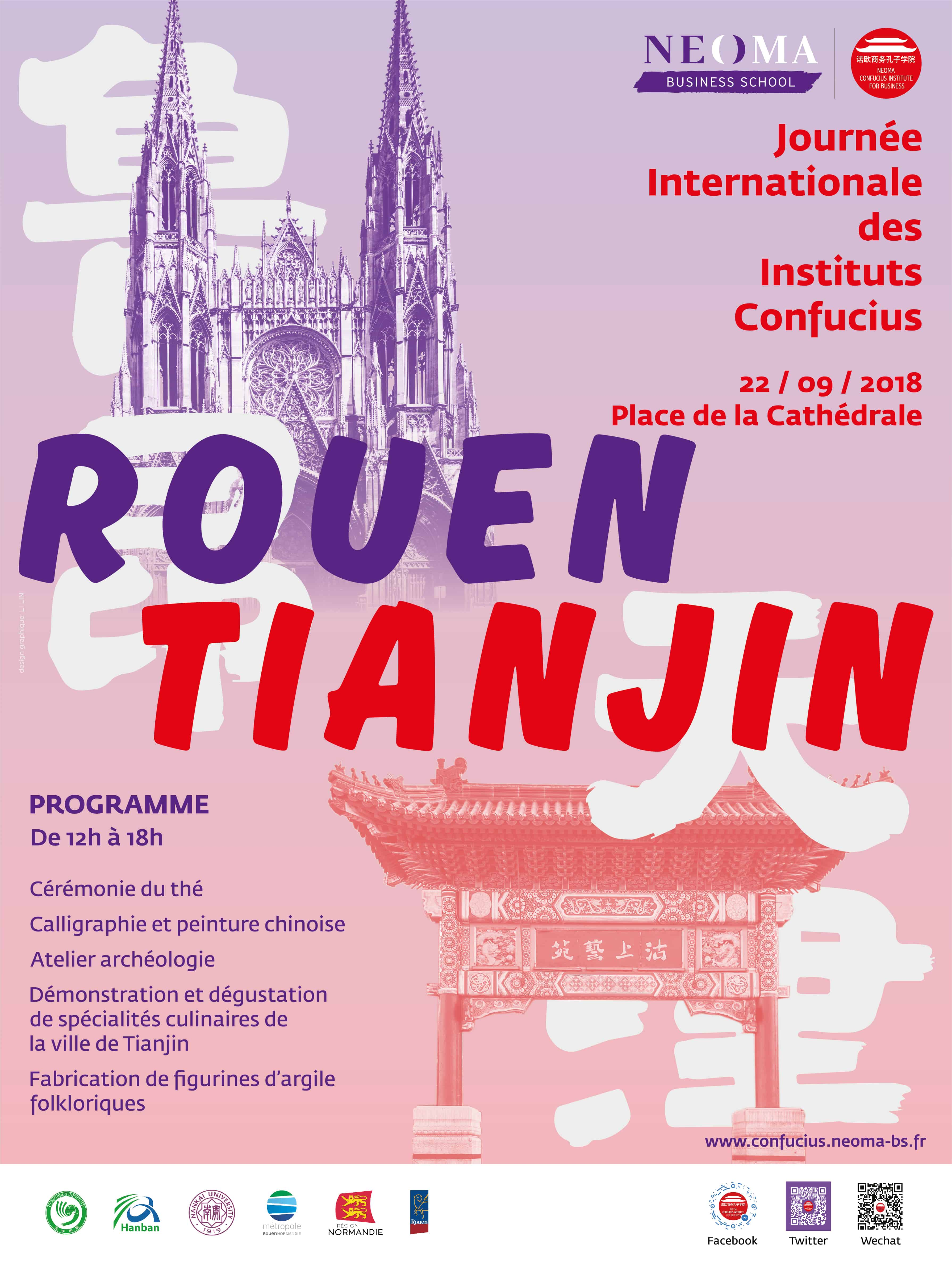 Evénement - Journée Internationale des Instituts Confucius