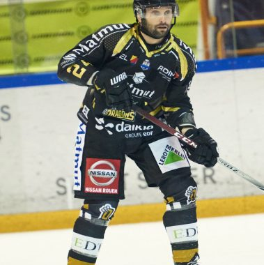 Marc-André Thinel rouen hockey rhe76 dragons