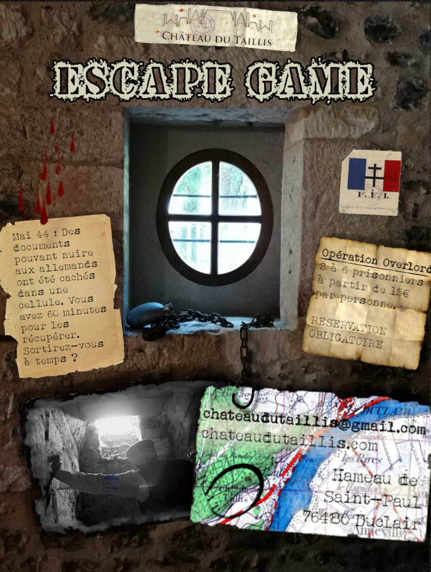 Escape game - Opération Overlord