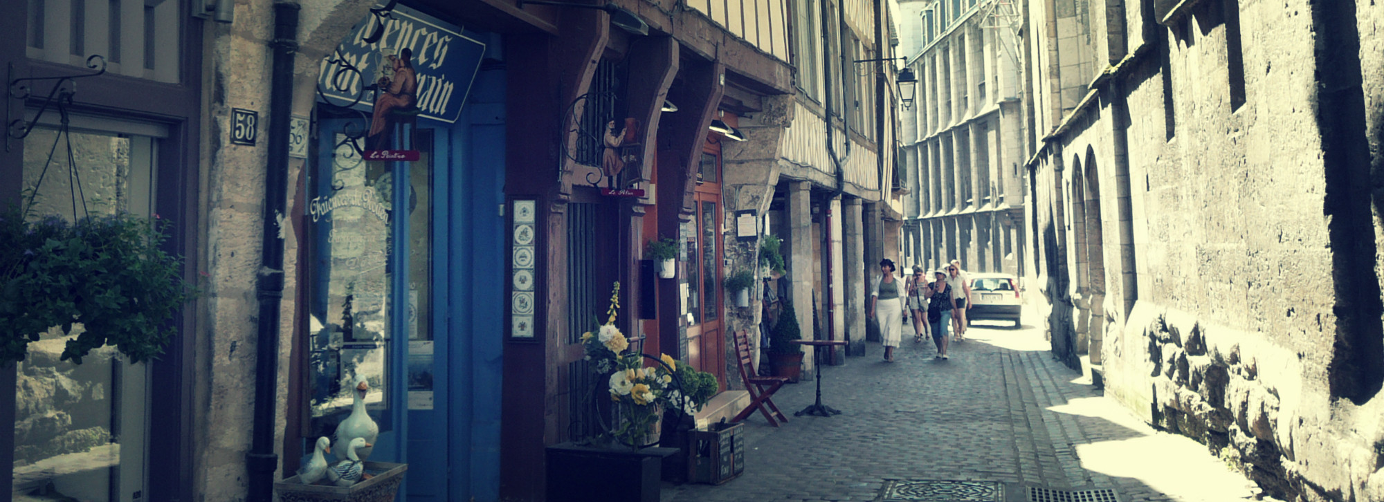 A way of life , Normandy gastronomy, shops in Rouen