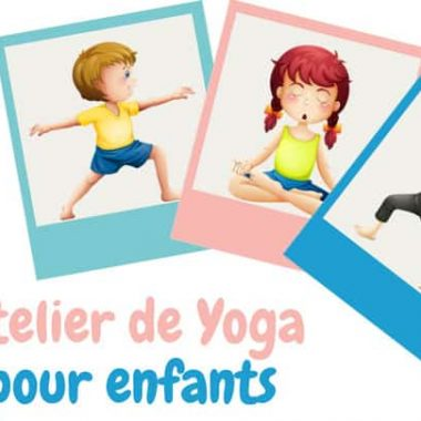 Atelier yoga parents/enfants 2 ans 1/2 à 5 ans